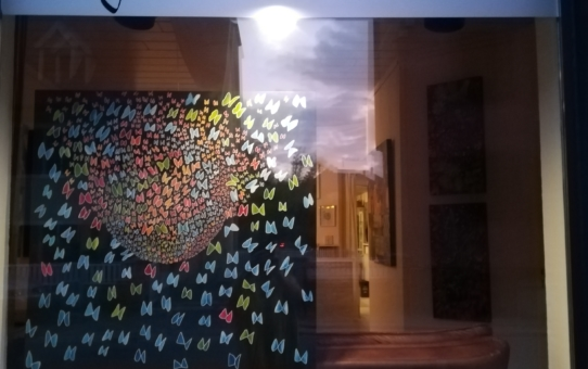 Vernissage de l'exposition de Françoise Courgeon